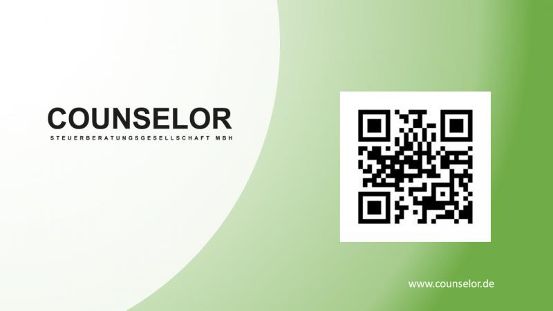 QR Code COUNSELOR 50 Steuerberater