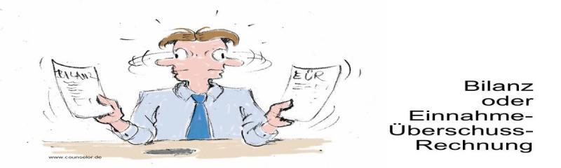 Bilanz oder Einnahme-Überschuss-Rechnung