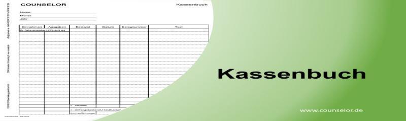 Kassenbuch FormularVorlage Steuerberater