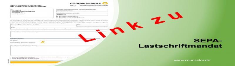 SEPA Lastschriftmandat download