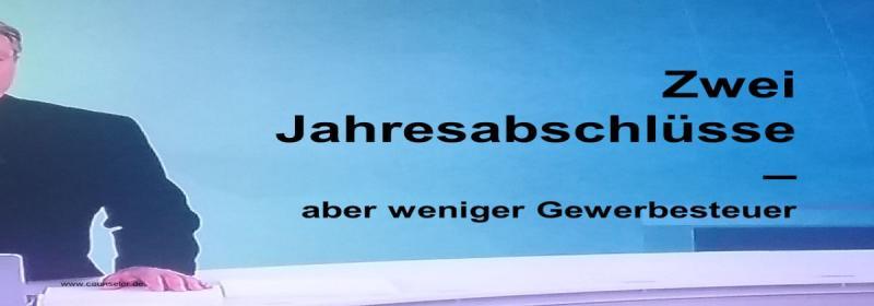 Zwei Jahresabschlüsse GmbH & Co KG