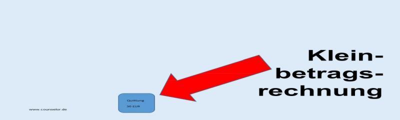 Kleinbetragsrechnungen1