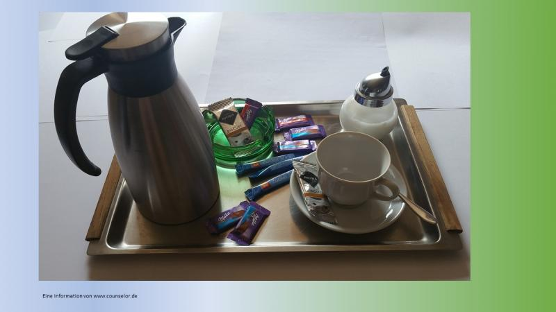 Kaffee-Bewirtung