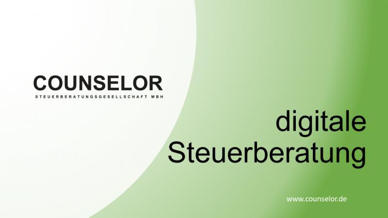 Steuerberater Hamburg zu digitaler Steuerberatung mit COUNSELOR Deck
