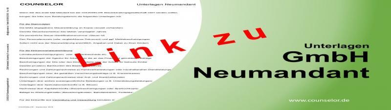 Unterlagen GmbH Neumandant Deck-Lz
