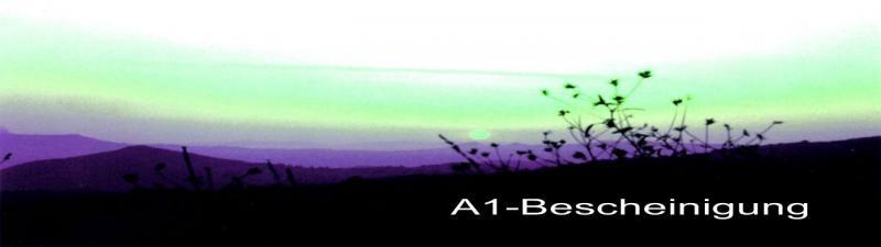 A1-Bescheinigung