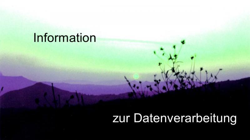 Information zur Datenverarbeitung