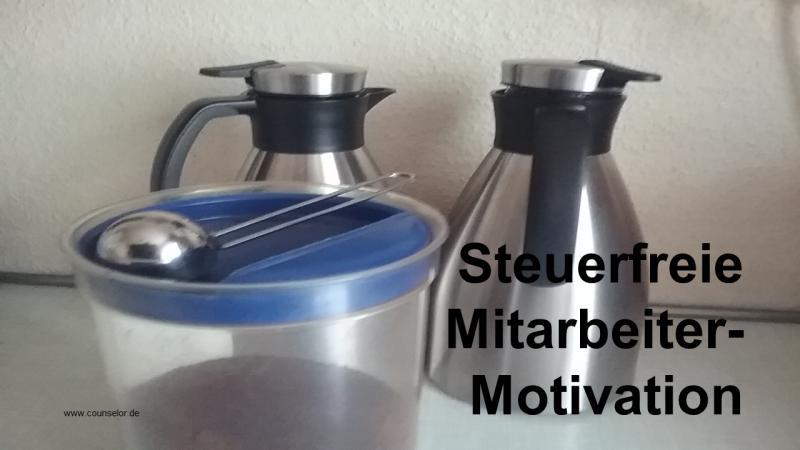 Steuerfreie Mitarbeiter Motivation