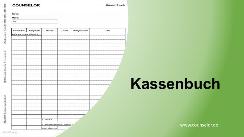 Kassenbuch d