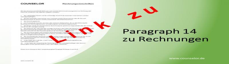 Rechnungsvorschriften 14-4 Lz