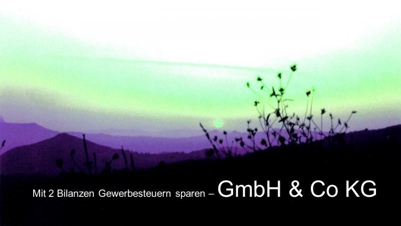 Zwei Jahresabschlüsse in GmbH & Co KG