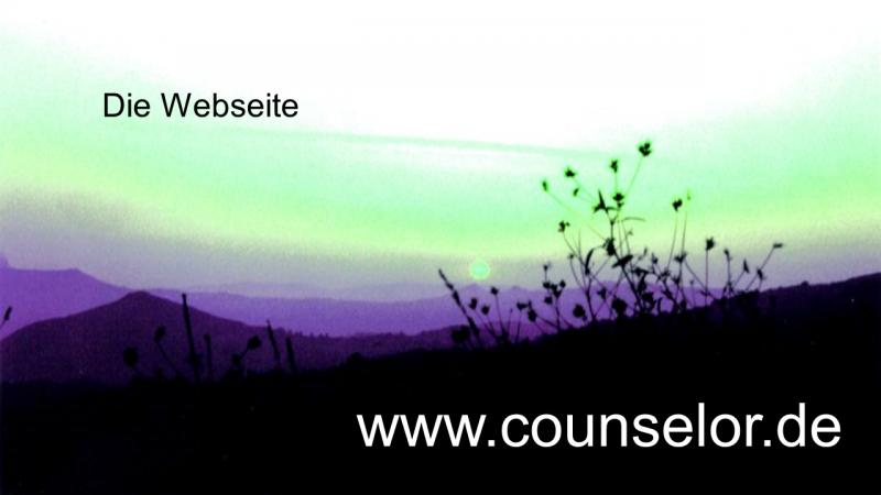 www.counselor.de ist unsere Webseite