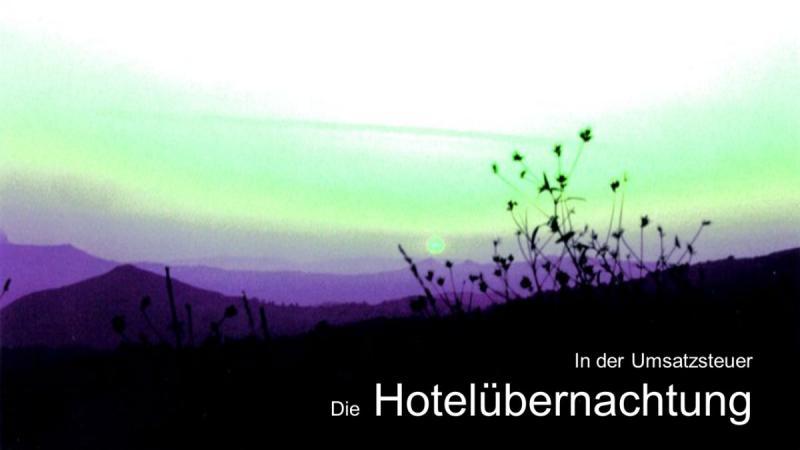Steuerberater Hamburg Hotelübernachtung