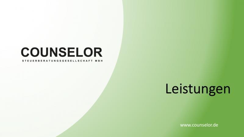 Leistungen 50 Steuerberater Norderstedt
