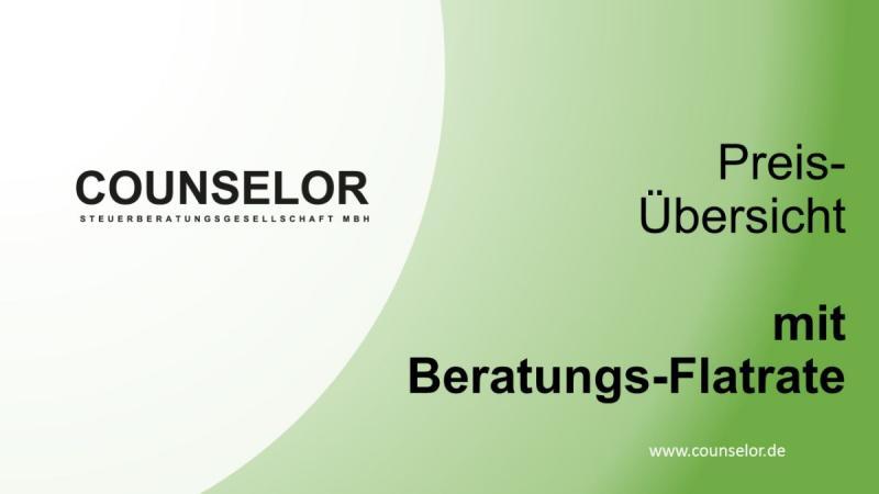 Steuerberater Hamburg Preis Übersicht mit Beratungsflatrate Deck