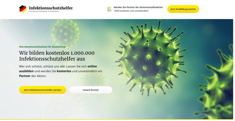 Infektionsschutzhelfer