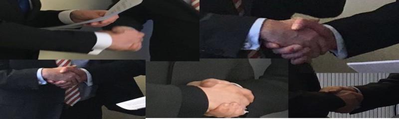 Geschäftsführer Bestellung Handschlag
