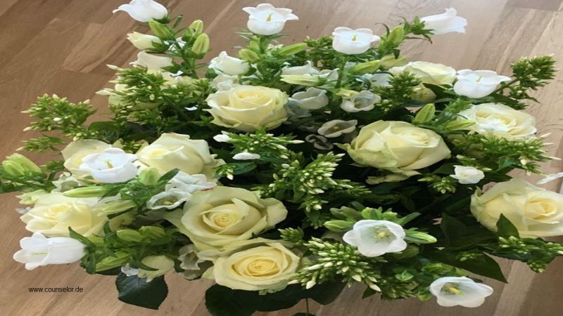 Blumen sind steuerlich absetzbar