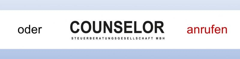 Steuerberater COUNSELOR anrufen