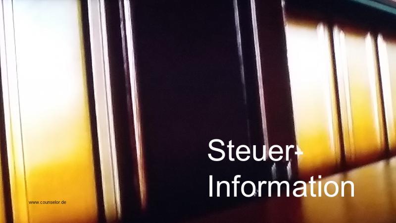 Steuer Information